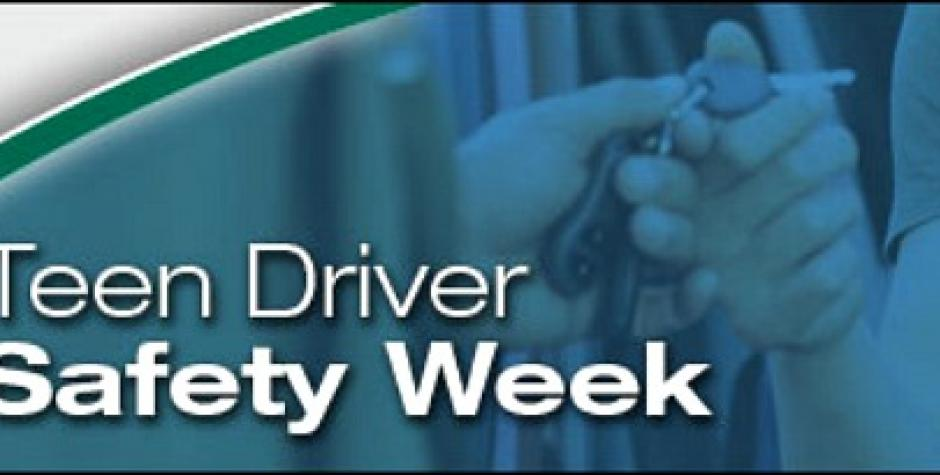 Teen driver event will kick off National Teen Driver Safety Week 2015