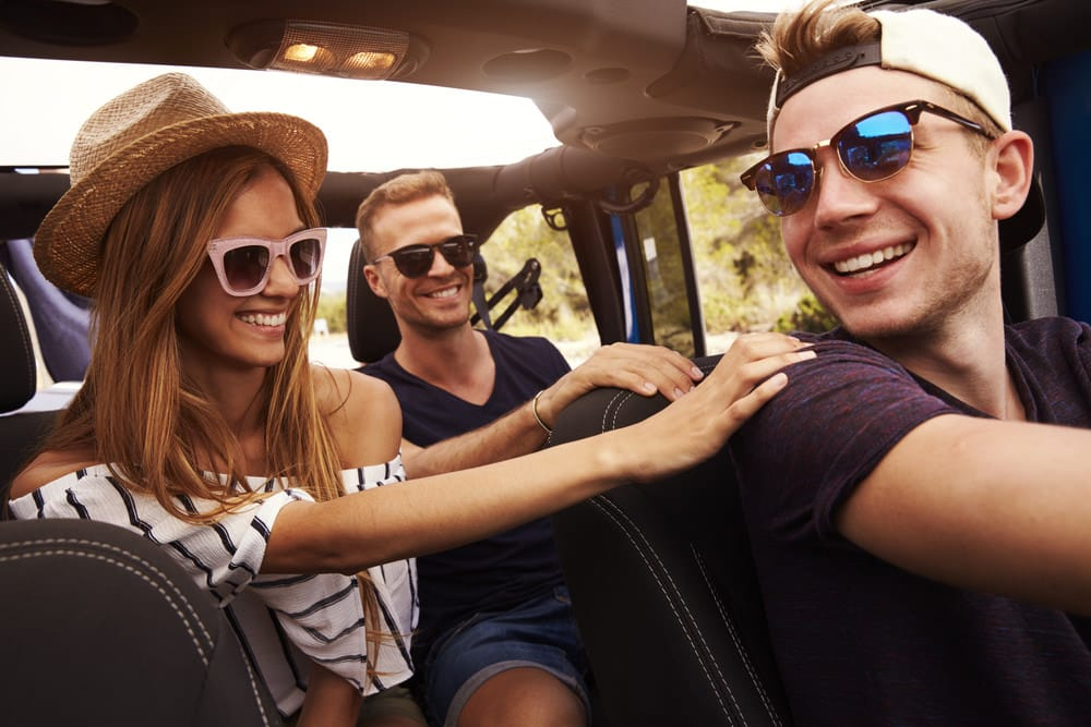Teen driver guide peer passengers