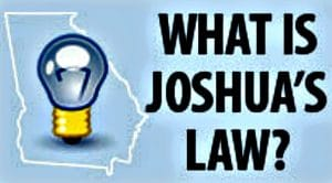 Joshua's Law Drive Smart Georgia