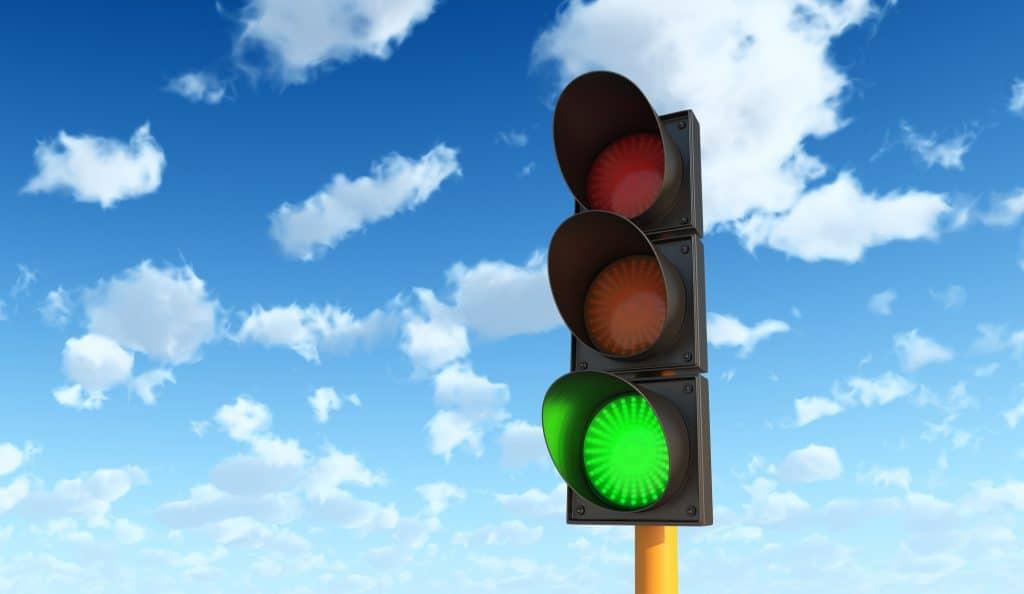 teen driver tips green light