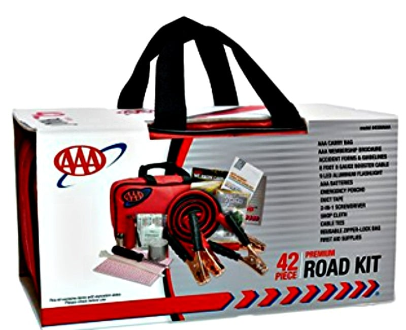 Gift ideas for new drivers AAA kit