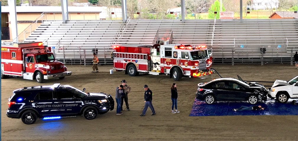 Dangers of impaired driving take center stage at Ghost Out for teen ...