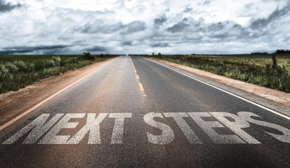 Next Steps road