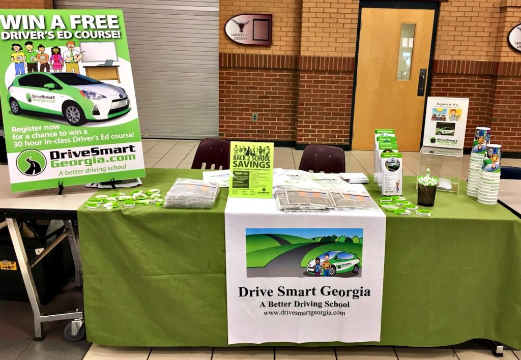 Free drivers ed table drive smart georgia
