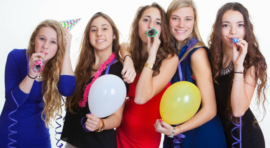 NYE teen party