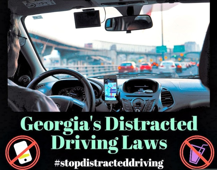 distracted driving Georgia