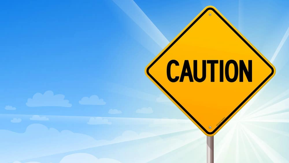 Caution sign Drive Smart Georgia